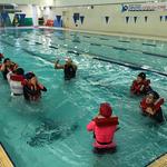 안양시 동안청소년수련관, 안양여중 대상 생존수영 교육