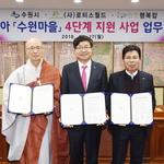 캄보디아 수원마을 4단계 지원사업 업무협약