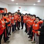과천소방서 의용소방대원 천안 안전체험관  견학 활동