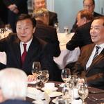 나란히 앉은 손학규 대표와 김병준 비대위원장