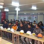 인천영종소방서,시저스코리아 복합리조트 공사현장 소방안전 교육