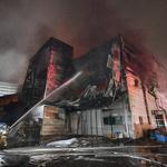 인천 주안 플라스틱 제조 공장서 불… 한때 '대응 2단계' 인명 피해는 없어