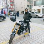 남규리, 슈퍼바이크 타고 카리스마 뽐내며 '출동 준비'