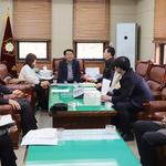 평택시의회, 지역노조와 정규직 전환 문제 논위 위한 간담회