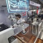 로봇 바리스타 커피 만들기 '척척'