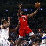 하든, 커리어 하이… NBA 한 경기 개인 최다 득점
