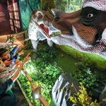겨울방학, 백화점 공룡탐험 나들이 어때요?