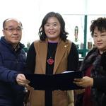시흥시의회생중계시민추진위원회 환영메세지와 3가지 요구사항 시흥시의회 전달