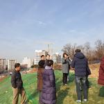 방미숙 하남시의장, 위례북측도로 마을 진출입로 민원현장 방문