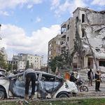 시리아 반군지역 연쇄폭탄공격 현장…24명 사망·51명 부상