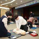마사회 응급구조팀 과천공직자에 심폐소생술 교육