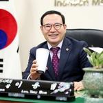 일상생활 속 텀블러 사용 SNS에 인증 이용범 인천시의회 의장 캠페인 동참