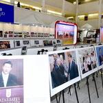 인천시청서 중국 개혁개방 40주년 국제순회 사진전 열려