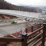 성남시, 누비길 첫 관문 수정구 창곡동 남한산성 기슭에 '산성 등산 육교' 설치