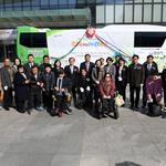 성남시 장애인 야외나들이 전용 '조이누리 버스' 시승식