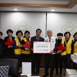 인천 동구의회, 어린이·노인 등 소외 이웃 위해 적십자사에 특별회비 전달