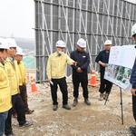김대순 양주 부시장, 도하리 제2외곽순환로 터널구간 안전 점검