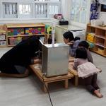 오산시, 어린이집 미세먼지 유입방지망 효과 검증나서