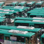 멈춰 선 오산버스 대신 전세버스 투입
