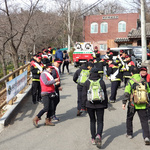 과천시, 관악산 등산로에서 산불예방 캠페인