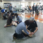 의정부시시설공단 스포츠센터 헬스장 고객대상 응급처치 훈련