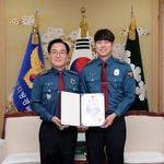 경기남부경찰청,순찰근무 중 길 쓰러진 여성 구조한 경찰관 3명 표창
