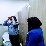 인천중부경찰서·공항철도 안전실 합심 공중화장실 불법 촬영 카메라 점검 나서