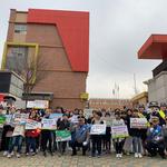 양주서, 광사초교 앞서 '스쿨존 안전 캠페인' 실시