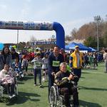 양평생활체육공원서 장애인·비장애인 '함께 굴리는 세상' 행사
