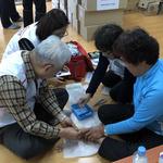 부천보건소, 산불 피해 자매도시 강릉 이재민 62가구에 의료·방역 지원