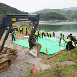 농어촌공 여주·이천지사, 원부저수지서  농업용수 공급 훈련