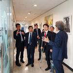 김종천 과천시장,차세대융합기술연구원 방문