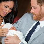 해리 왕자 부부, 아들 첫 공개…이름은 '아치 해리슨 마운트배튼-윈저'