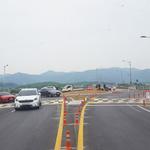 양평군, 양평대교 북단사거리 회전교차로 시공 완료