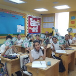 몽골 최초 표준한국어 교재 9월 첫 장 넘긴다