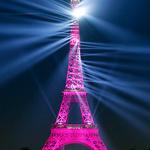 '130살' 파리 에펠탑 화려한 레이저 쇼