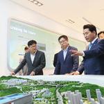 백군기 용인시장,삼성전자 기흥캠퍼스 방문