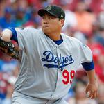 류현진 시즌 6승…MLB 평균자책점 전체 1위