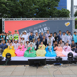 교통공단 음악동호회 풀잎소리,  야탑역 광장서 행복콘서트 개최
