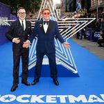 런던서 영화 '로켓맨' 참석한 엘튼 존