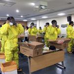 부천보건소, 생물테러 모의훈련 대비 '개인 보호복 착·탈 교육'