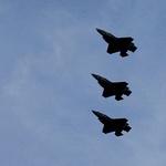 영국 스텔스 전투기 키프로스 상공 비행
