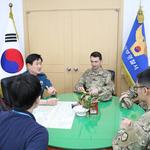 의정부경찰서,  캠프 케이시 헌병대 초청해 협력치안 간담회 개최