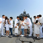 해군 제2함대사령부,'리마인드 웨딩촬영' 행사 개최