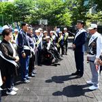 하남 보훈단체협, BRT환승센터 일대서 환경정화캠페인