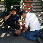 여주도시공단 직원, 의식불명 시민 심폐소생술로 구명