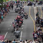 美워싱턴에 오토바이 행렬…메모리얼 데이 기념 '롤링 선더'