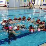 의왕여성회관수영장서 어린이회원 400여명에  지난 27·28일 수상안전 교육