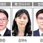 국세청장 김현준·靑 인사수석 김외숙
