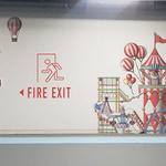 파라다이스시티 곳곳에 픽토그램 벽화 영종소방서와 신속한 '피난환경' 조성